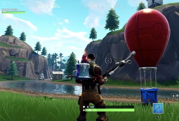 Battle Royale balloon