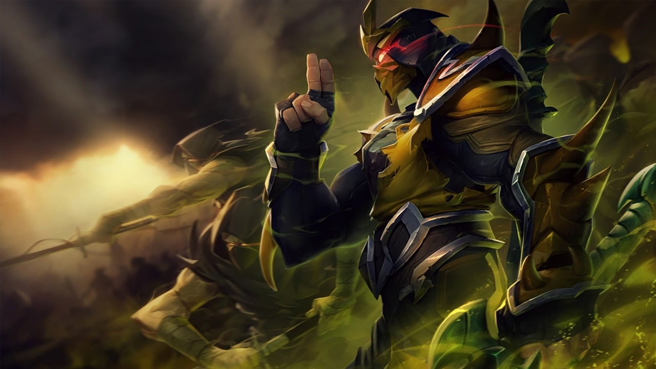 League of Legends wallpaper yellow jacket